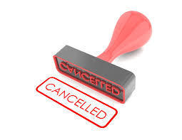 Cancellations at St. Joseph