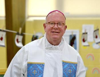 Bishop William Byrne Celebrates Mass
