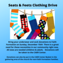Seats & Feets Clothing Drive