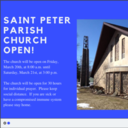 St. Peter Parish Church Open for 30 Hours Straight for Prayer