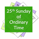 Digital Worship Aid for 25th Sunday in Ordinary Time