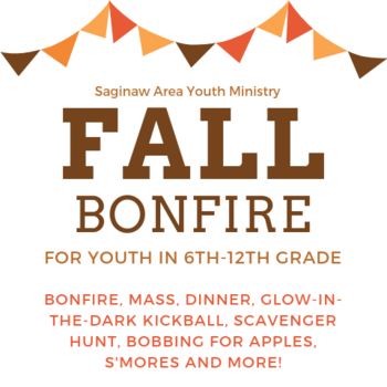 Saginaw Area Youth Ministry Bonfire