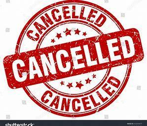 Thursday Mass on August 23rd Cancelled
