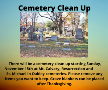 Cemetery Clean Up