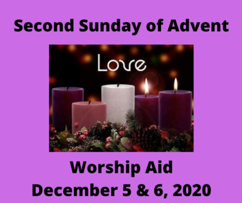 Worship Aid for Second Sunday of Advent