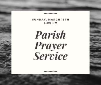 Lent Parish Prayer Service