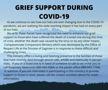 Grief Support During COVID-19