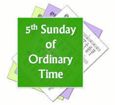 Digital Worship Aid for Fifth Sunday of Ordinary Time