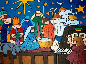 Rehearsal Christmas Pageant