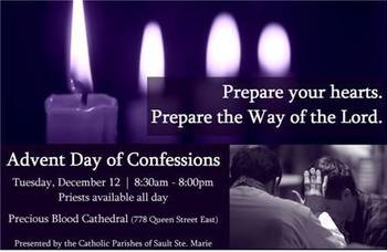 Advent Day of Confessions 2017