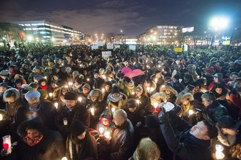 Candlelight Vigil for Quebec City Mosque