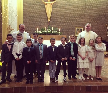 Congratulations to our First Eucharist candidates!