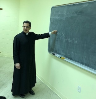 Convert Classes taught by Father Capoverdi