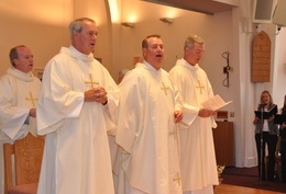Newly Ordained Deacons Assigned to Holy Mothers Collaborative
