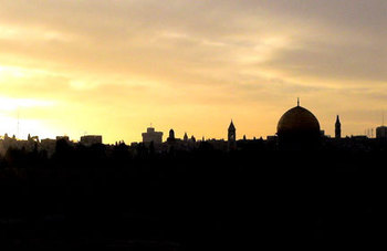 Walk to Jerusalem with us! (Click on this title for weekly reflection)
