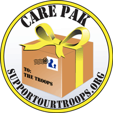 Carepacks for Troops