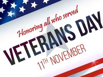 100th Veteran's Day Anniversary (11-11-18)