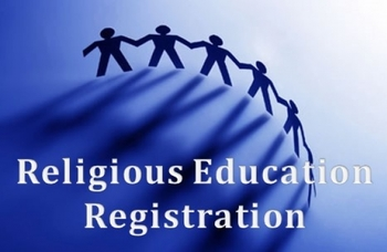 Grade 1-9 Religious Education Registration Form - Sign up before August 1st to avoid late fee !!!