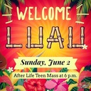 Welcome Luau (Sunday, June 2)