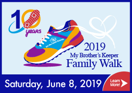 My Brother's Keeper Family Walk (Saturday, June 8)