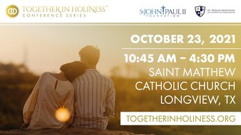 Together in Holiness Conference Series