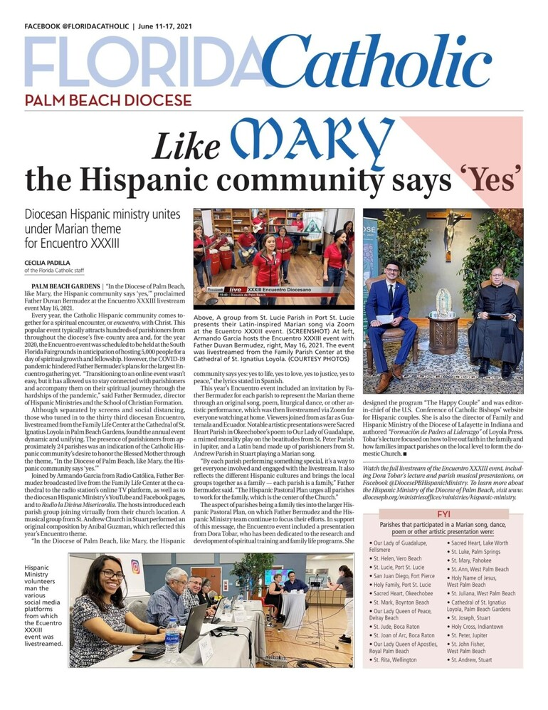 We are very proud of our Hispanic community