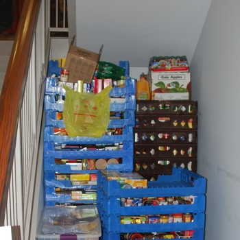 Cub Scouts collect for AG Christmas Basket Program