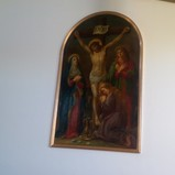 PAINTING OF THE PASSION OF CHRIST RELOCATED