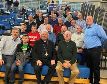 Achbishop Perez Meets the Men of ABVM Parish