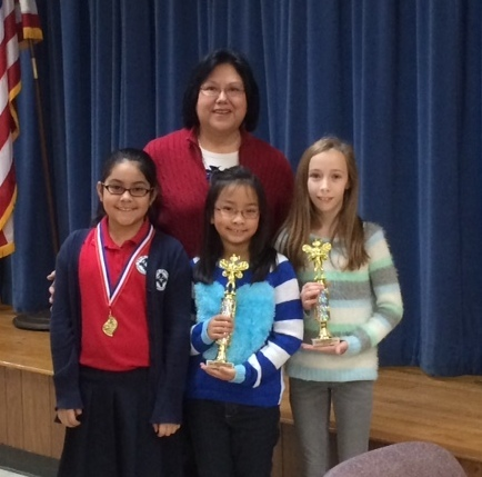 Our Elementary Spelling Bee Winners