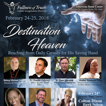 """Destination Heaven"": Reaching from Daily Crosses for His Saving Hand"