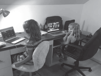 Families Confront Challenges of Remote Learning