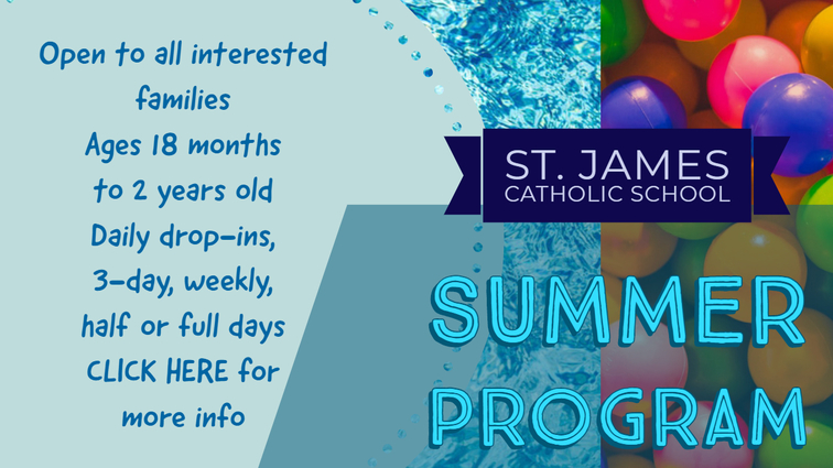 Summer Program | St  James Catholic School | Seguin, TX