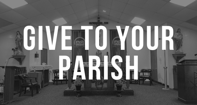 Give to your parish