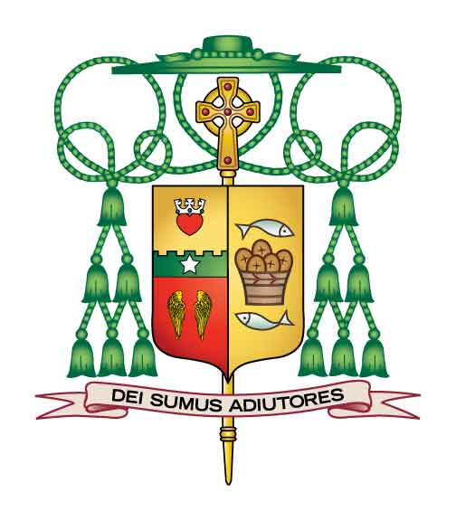 What's the meaning of this? Bishop Sis' Coat of Arms
