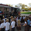 Firefighters Visit our Kindergarten Classes