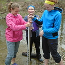 Seventh Graders Study Sharon Woods Creek