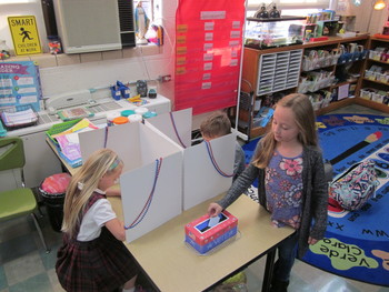 2nd Graders Learn about the Election Process