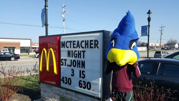 McTeacher Night at McDonalds