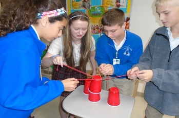 Glenmary Home Missioners Visit Jr. High During World Mission Month