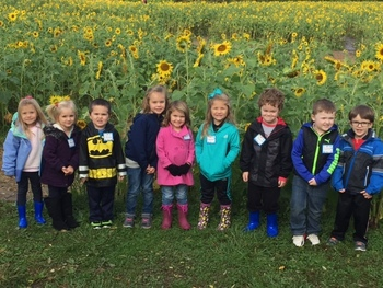 4 Year Old Preschool Trip to Gorman Heritage Farm