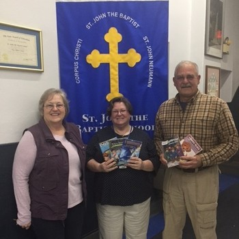 Nate's Toy Box Donates Books to 2nd Grade