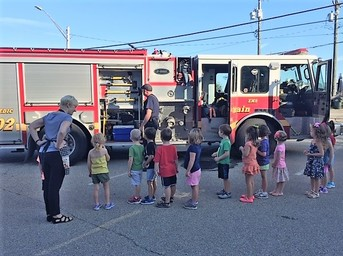 Colerain Fire Department Visit
