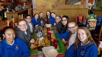 Spanish Club Visits La Pinata Restaurant