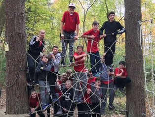 Eighth Grade Visits Camp Kern