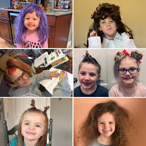 Virtual Spirit Week Crazy Hair Day