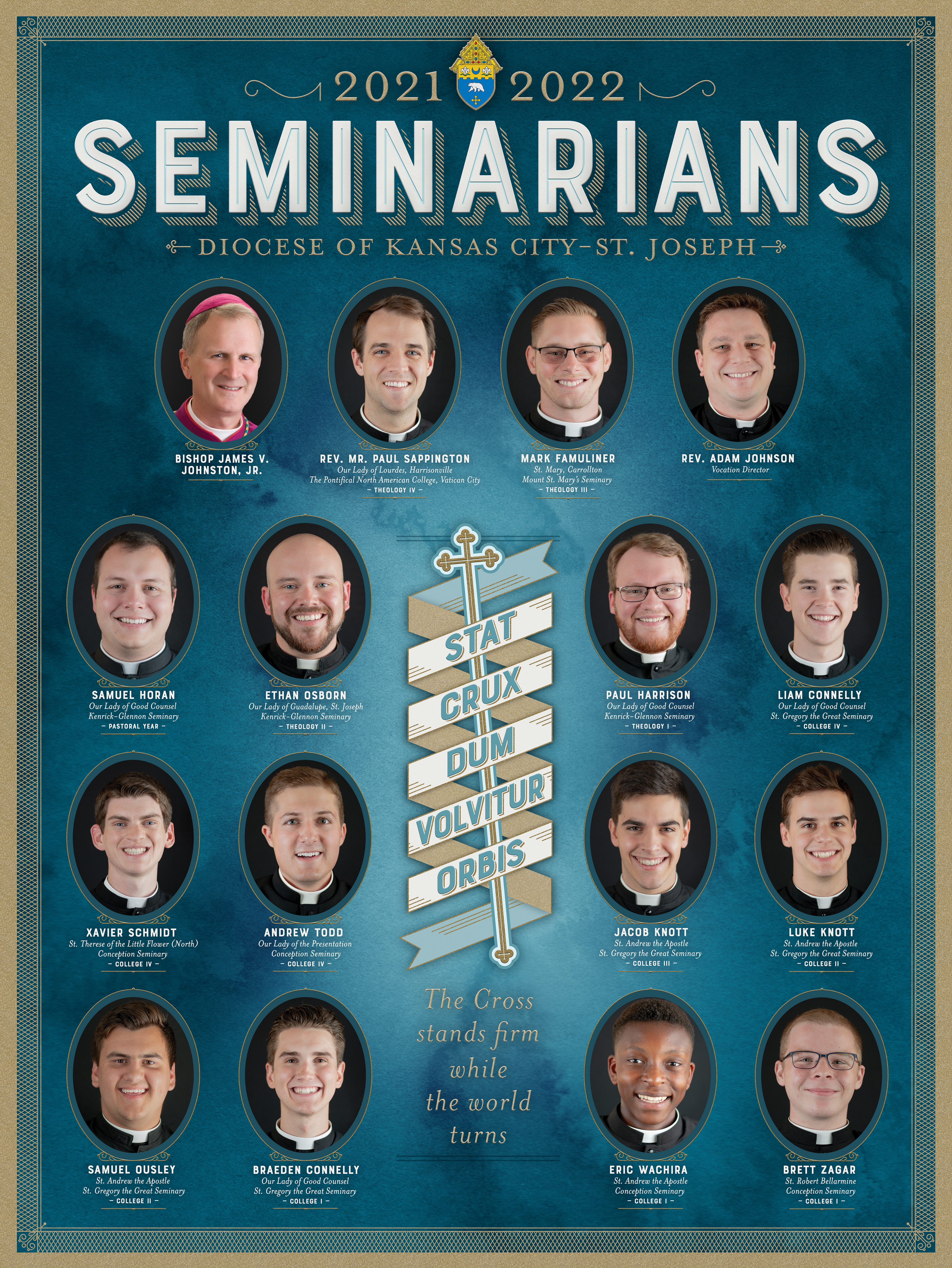 Click to learn about our seminarians
