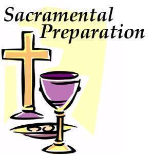 Whole Community Sacrament Preparation