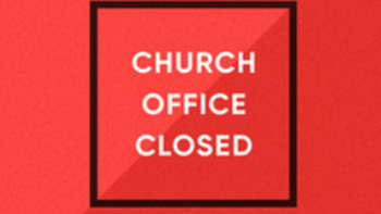 OFFICE CLOSED - FEAST OF THE IMMACULATE CONCEPTION