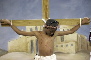St. Anthony students recount the last days of Jesus in Passion Play